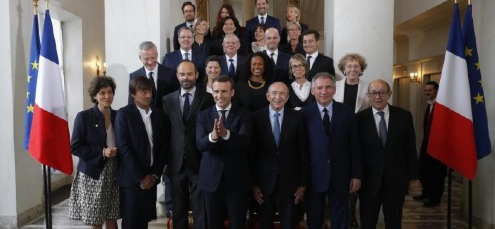 Nouveau Gouvernement Macron, ce que la Presse ne dira pas