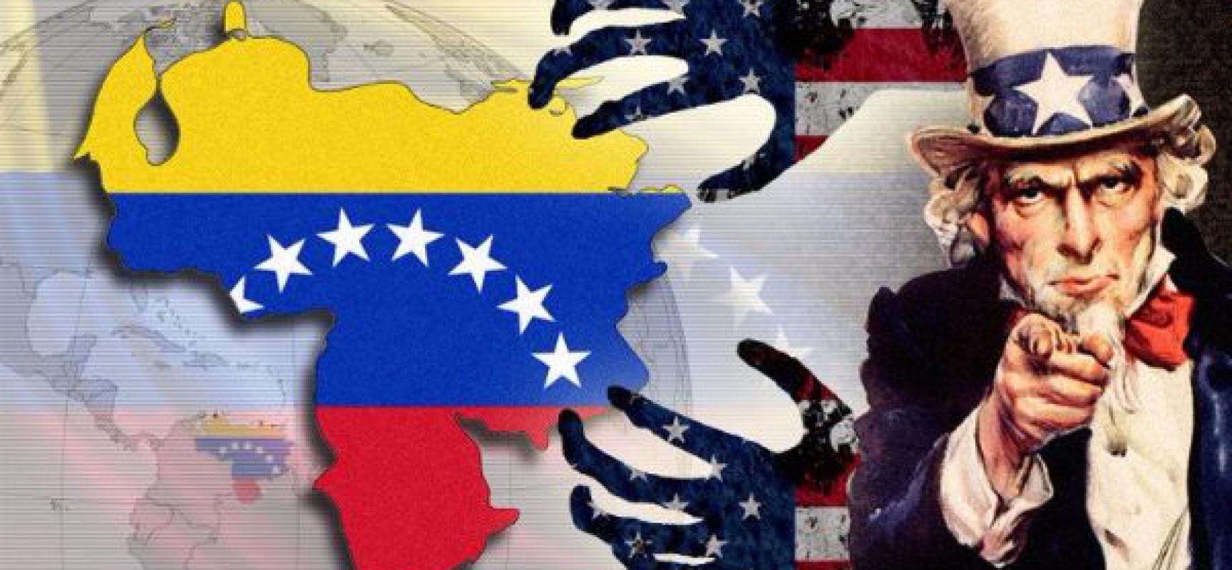 La guerre des États-Unis contre le Venezuela