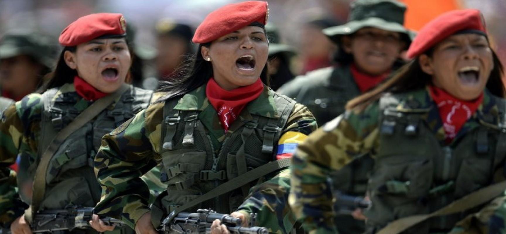 Le Venezuela met l'armée sur le pied de guerre