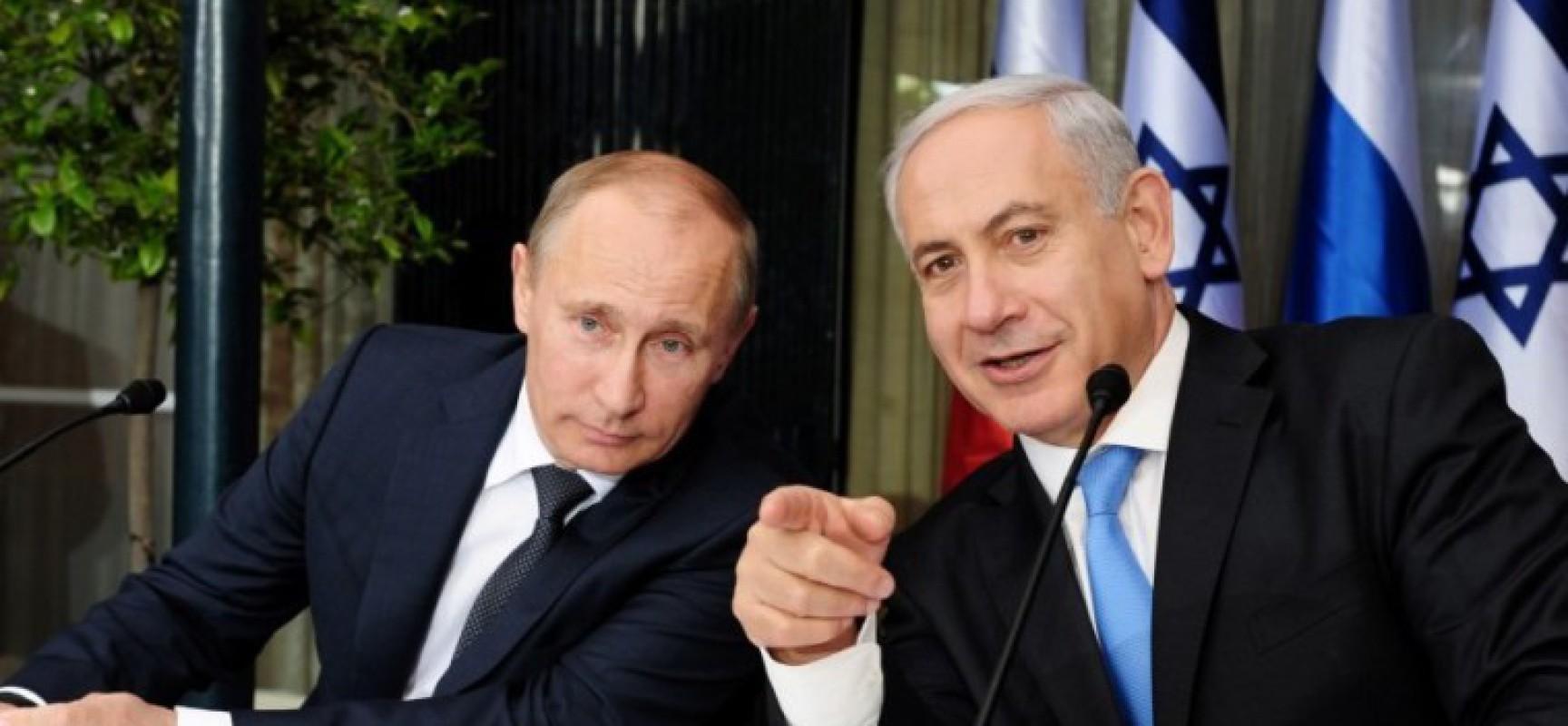 Tout arrive ! Un accord secret entre Assad et Netanyahu, avec la médiation de Poutine