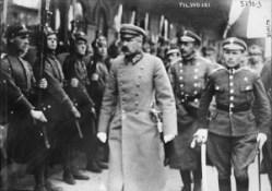 Josef Pilsudski à Minsk, 1919