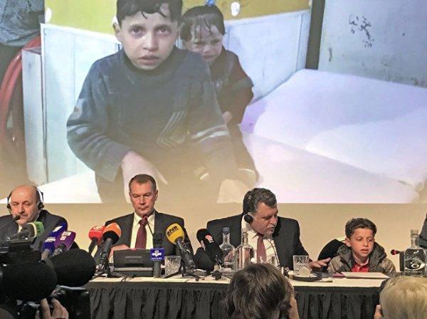 © Sputnik . Viktoria Ivanova Le témoignage de Syriens à la Haye