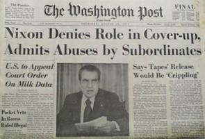 Nixon nie tout rôle dans le camouflage, admet les abus commis par des subalternes