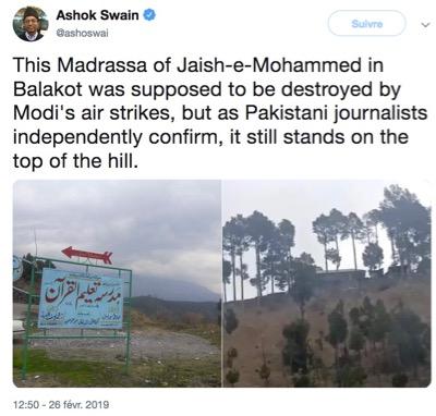 Frappes aériennes de Balakot 6 20190308