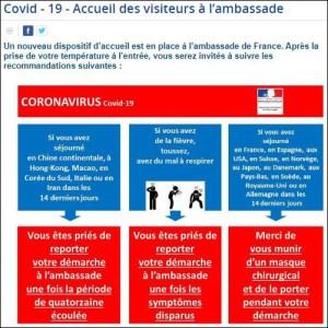 L'ambassade de France en Thaïlande dit clairement aux expatriés français vivants dans le pays d'aller crever ailleurs s'ils sont atteints du Covid-19