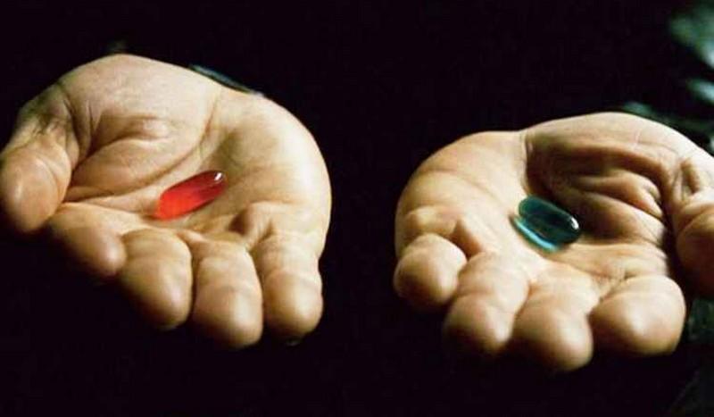 Pilule bleue, pilule rouge