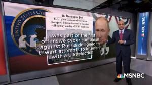Comment la Russie est présentée comme un cyber-agresseur