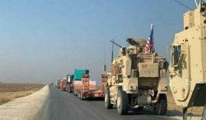 Syrie – Les forces US poursuivent le pillage, 38 camions du « blé volé » envoyés en Irak