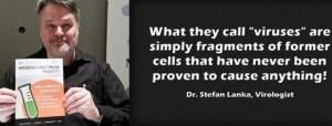 Stefan Lanka conduit les expériences témoins réfutant la virologie