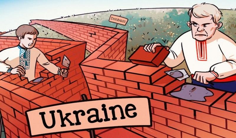 Nouvelle interview de Zelensky : Projet de « mur » entre l'Ukraine et le Donbass et autres bêtises