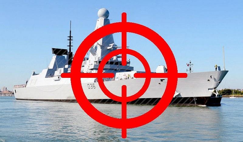 La Russie avertit le Royaume-Uni qu'en cas de nouvelle provocation les tirs viseront le navire