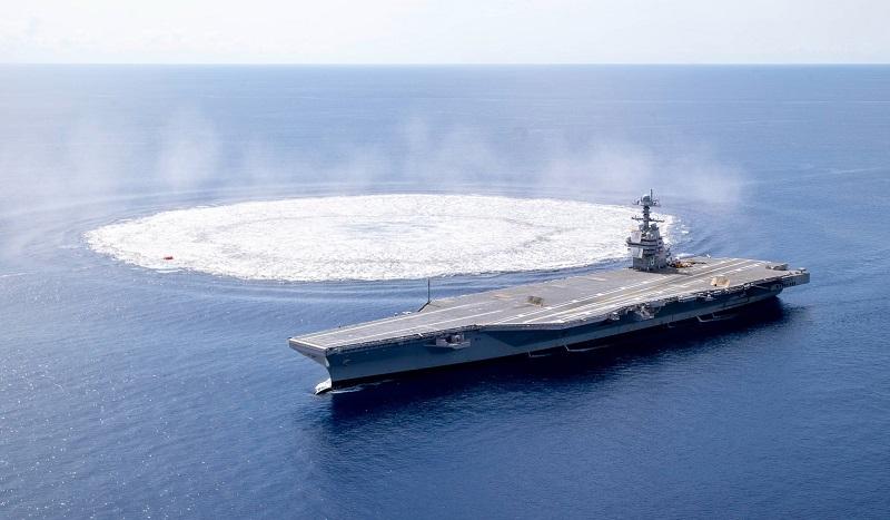 Une ère nouvelle où les portes-avions nucléaires seront envoyés par le fond