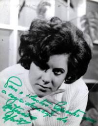 Artistas Natércia autografada