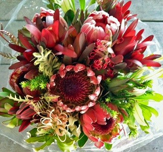 Bouquets of Protea