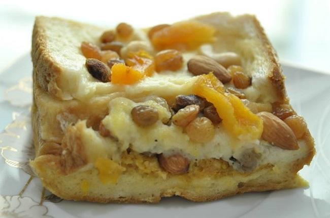 Puding Roti Arab