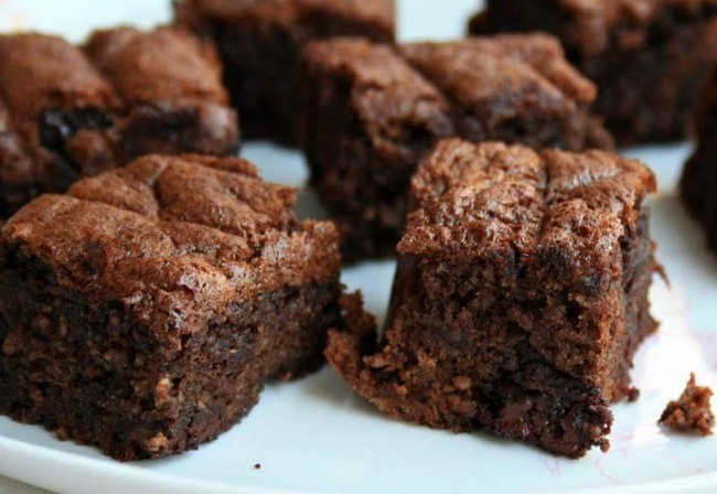 Resepi Almond Brownies Cookies