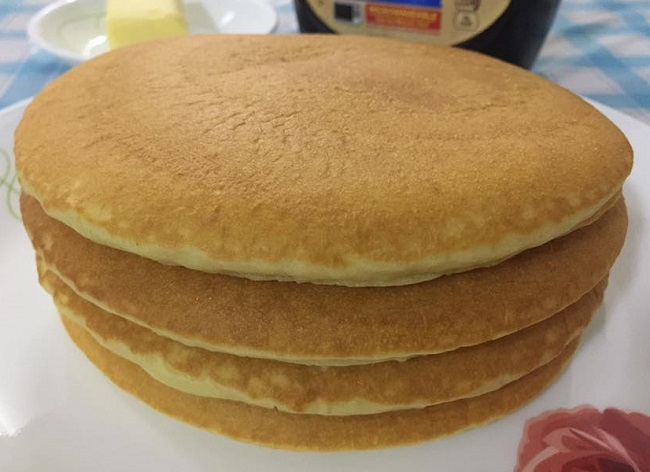 Resepi Fluffy Buttermilk Pancake
