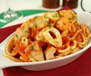 resepi-spageti-seafood