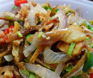 resepi-kerabu-ikan-bilis-thai