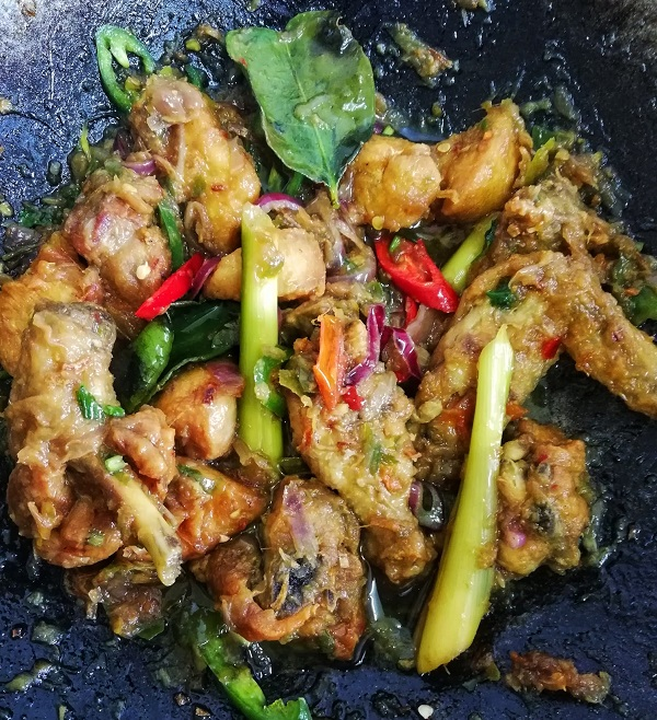 Resepi Thai Spicy and Sweet Sour Chicken