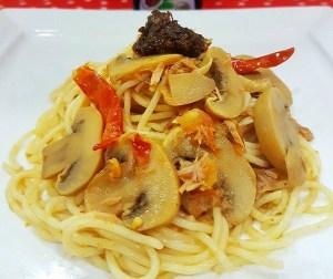 resepi-pasta-goreng-spicy-chili-tuna