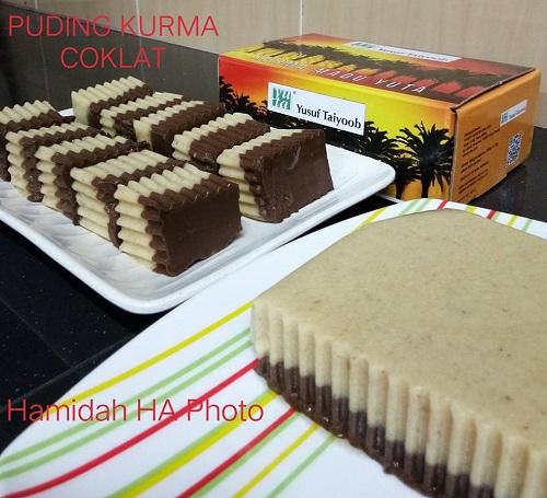 Resepi Puding Kurma Coklat