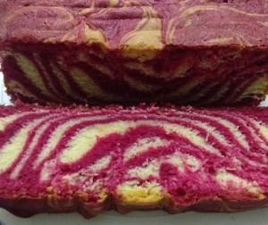 resepi-kek-marble-red-velvet-cream-cheese