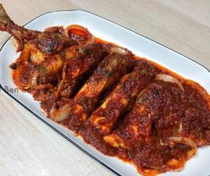 resepi-ikan-selar-papan-masak-sambal-pedas