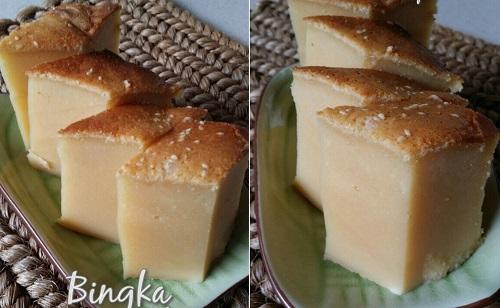 Resepi Bingka Susu Cheese