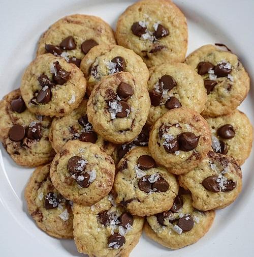 Resepi Sea Salt Chocolate Chip Cookies
