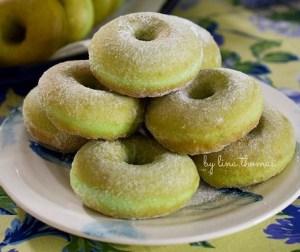 resepi-donut-kampung-berperisa-pandan