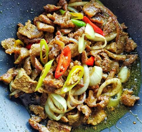Resepi Daging Goreng Kunyit Kelantan Stail