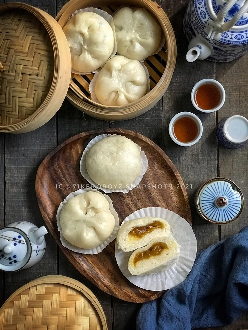 Resepi Pau Kaya Menggunakan Bread Maker