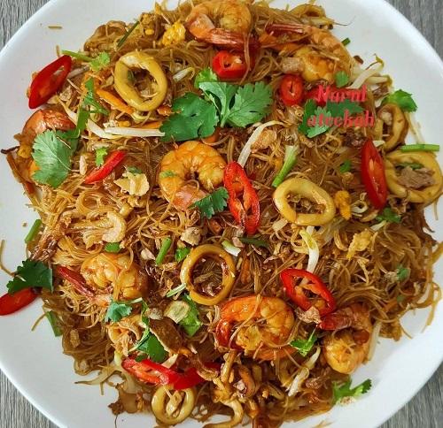 Resepi Bihun Goreng Kicap Seafood