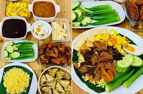 Set Lengkap Resepi Nasi Kandaq Mamak