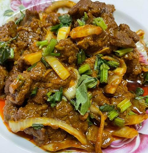 Resepi Masakan Mudah Daging Goreng Rempah