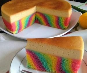resepi-kek-karamel-pelangi-gebus