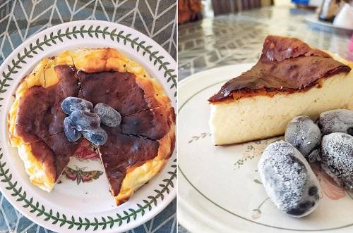 Basque Burnt Cheesecake Ringkas dan Mudah