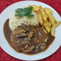 Nasi Butter ala KFC Dengan Chicken Chop