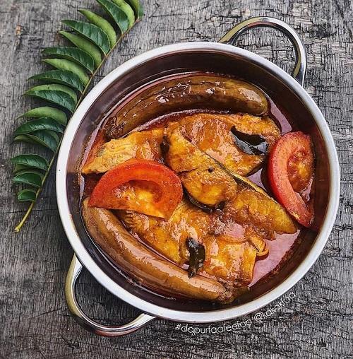 Resepi Masakan Mudah Kari Ikan Tenggiri
