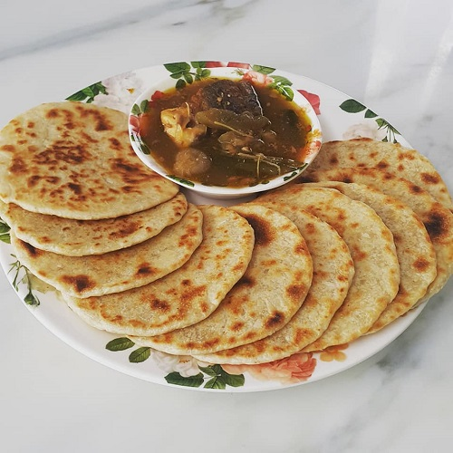 Resepi Roti Tepek atau Debab Nyo Orang Perak