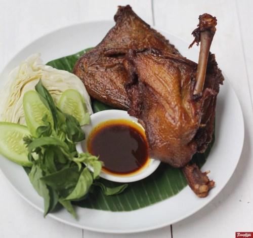 Gambar Hasil Membuat Resep Bebek Goreng Surabaya