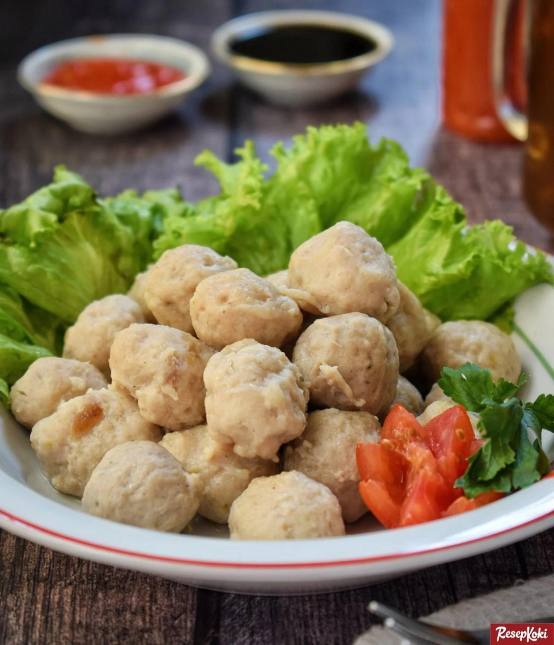 Resep Bakso Sapi (Pentol Daging Asli)