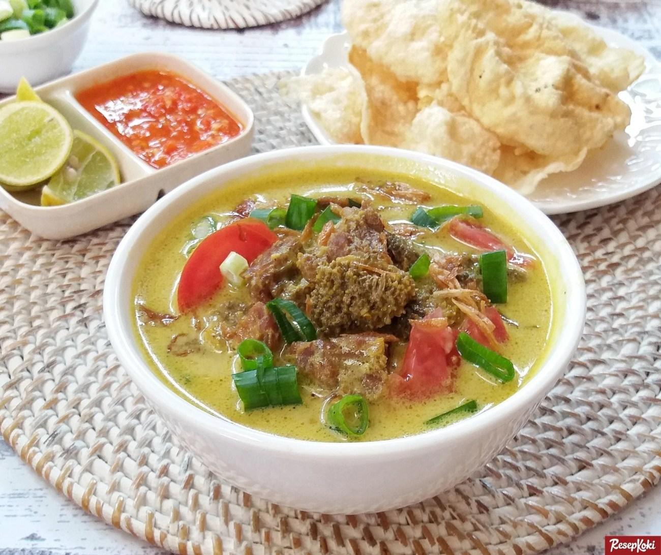 Resep Soto Kuning Bogor