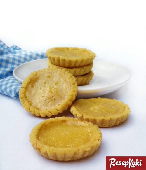 Gambar Hasil Membuat Resep Pie Susu