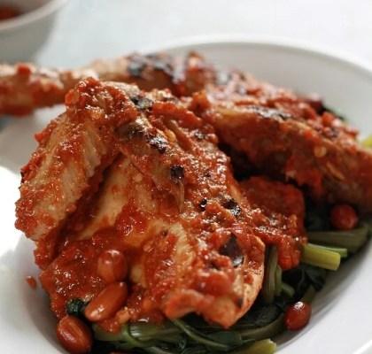 ayam taliwang pedas