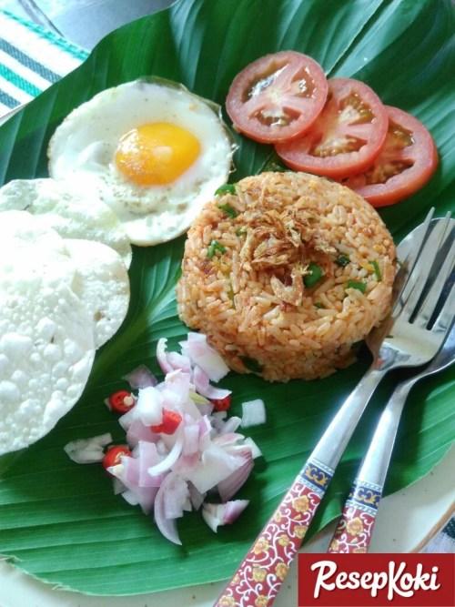 Gambar Hasil Membuat Resep Nasi Goreng Aceh