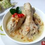 Resep Opor Ayam Putih