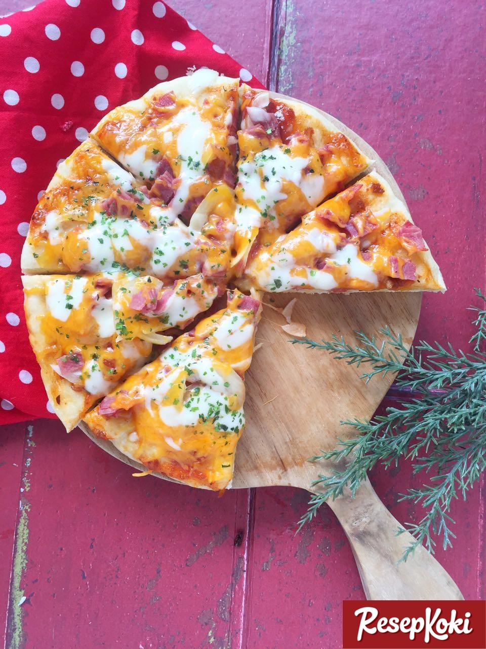 Resep Pizza Teflon Resep Indonesia CaraBiasa.com