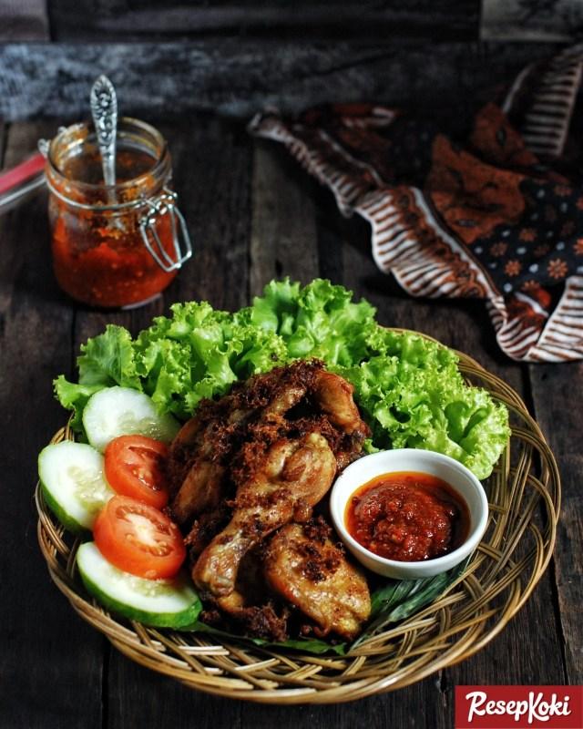 Gambar Hasil Membuat Resep Ayam Goreng Lengkuas
